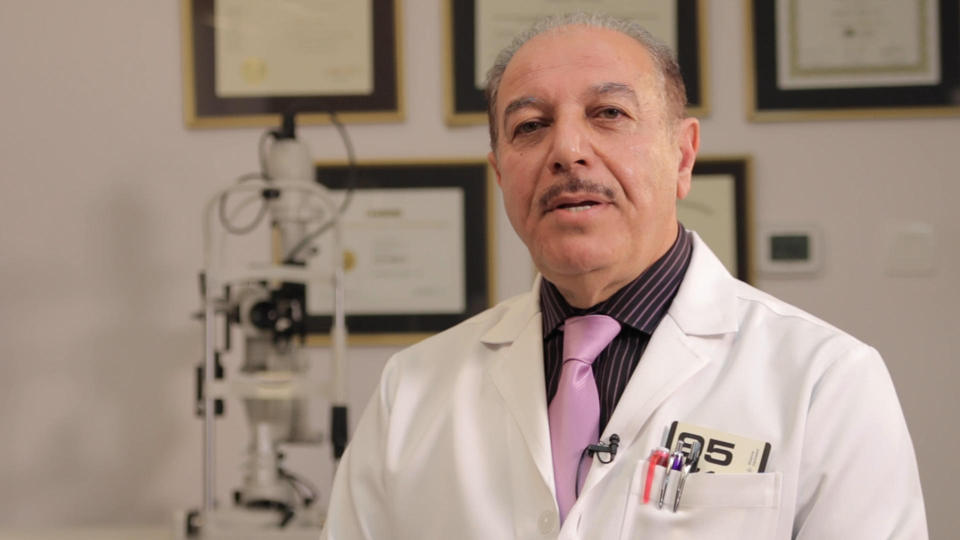 الدكتور مؤمن الريفي طب العيون البحرين Al Reefy Specialist Center bahrain Dr. Momen Al-Reefy