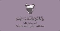 ministry of youth and sport affairs وزارة شؤؤن الشباب والرياضة البحرين شعار logo